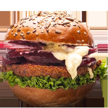 Quinoa Burger-Uncle-John